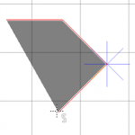 Map grid and constrained angle drawing (by holding Ctrl).