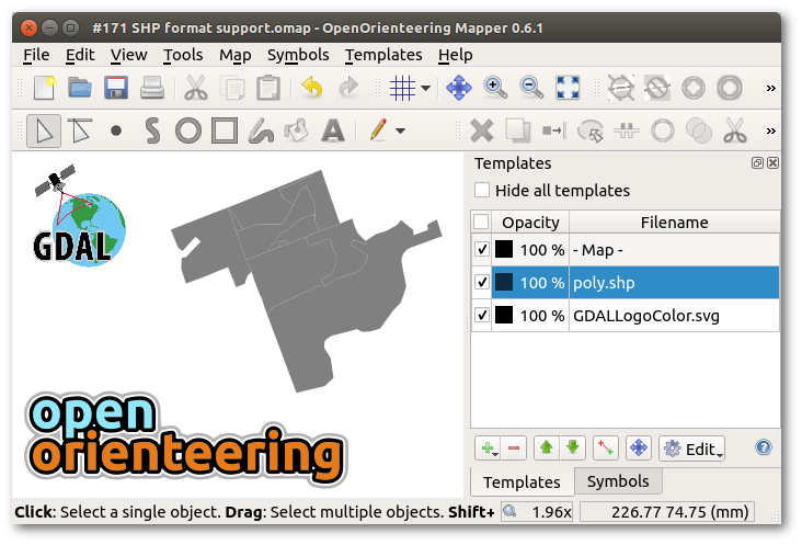 Shapefile in Mapper